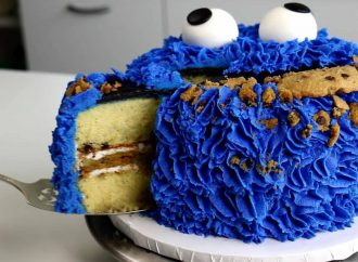 DIY Cookie Monster Birthday Party Ideas For Kids